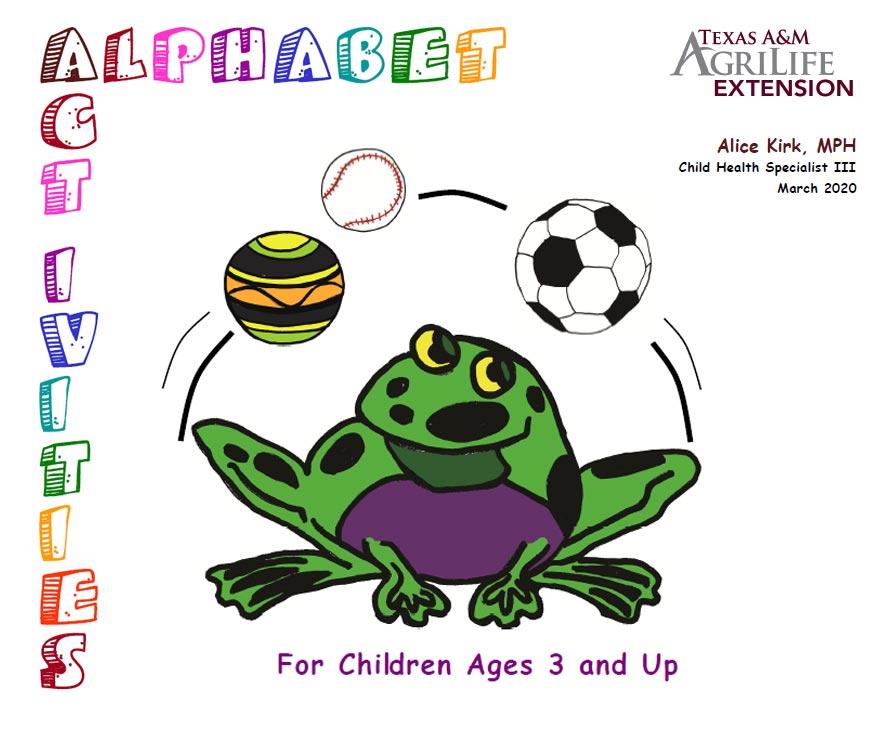 Activities for Kids at Home - Alphabet Activities Guidebook